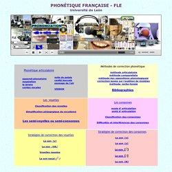 articulation, phonétique FLE, phonétique française, cours de prononciation
