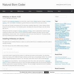 Artifactory on Ubuntu 14.04 - Natural Born Coder