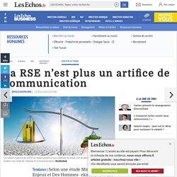 La RSE n'est plus un artifice de communication, Bien-être au travail