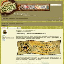 View topic - Announcing The Discworld Grand Tour!