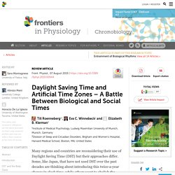Battle Between Biological and Social Times
