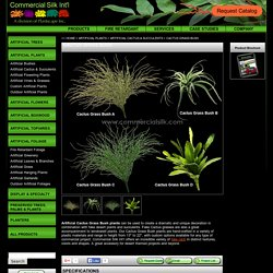 Artificial Cactus Grass Bush