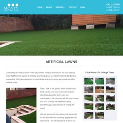 Artificial Lawn Installers Devon - Monty Construction, UK
