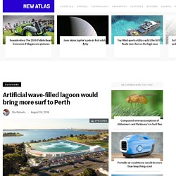 Artificial wave-filled lagoon would bring more surf to Perth