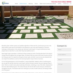 artificial grass contractors las vegas