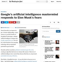 Google's artificial intelligence mastermind responds to Elon Musk's fears