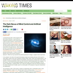 The Dark Nexus of Mind Control and Artificial Intelligence