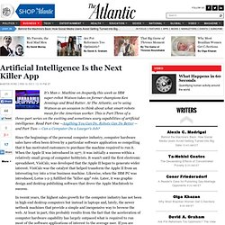 Artificial Intelligence Is the Next Killer App - Martin Ford - Business