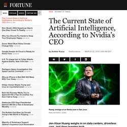 The State of Artificial Intelligence Technology, Per Nvidia's CEO