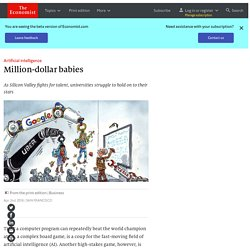 Artificial intelligence: Million-dollar babies