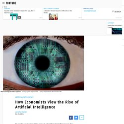 The Rise Of Artificial Intelligence And How It Affects Economists