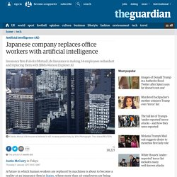 Japanese company replaces office workers with artificial intelligence