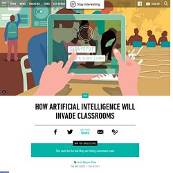 How Artificial Intelligence Will Invade Classrooms