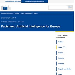 Factsheet: Artificial Intelligence for Europe