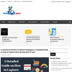 Guide of - E-commerce Brands & Artificial Intelligence