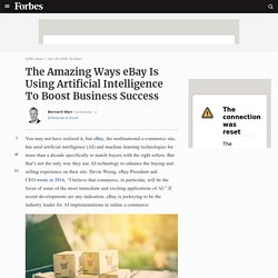 The Amazing Ways eBay Is Using Artificial Intelligence To Boost Business Success
