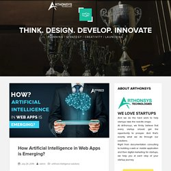 How Artificial Intelligence in Web Apps is Emerging?