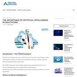 Impact of Artificial Intelligence in Healthcare industry