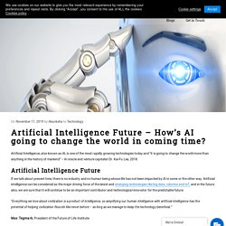 Artificial Intelligence Future – How's AI changing the world Rapidly