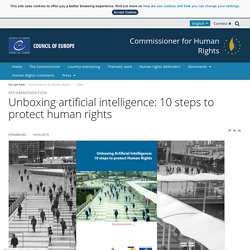 Unboxing artificial intelligence: 10 steps to protect human rights - View
