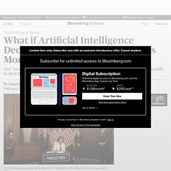 What if Artificial Intelligence Decided How to Allocate Stimulus Money?