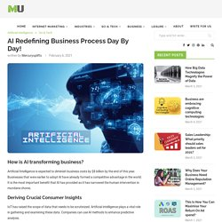 Artificial Intelligence Redefining Business Process Day