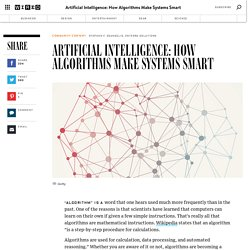 Artificial Intelligence: How Algorithms Make Systems Smart