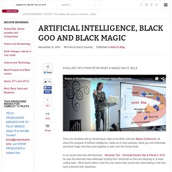 Artificial Intelligence, Black Goo and Black Magic