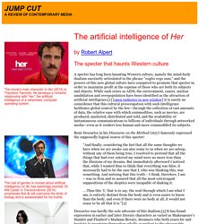 """The artificial intelligence of 'Her'"" by Robert Alpert"