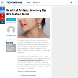 Beauty of Artificial Jewellery The New Fashion Trend