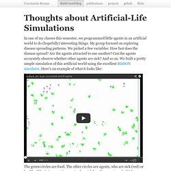 an analysis of the simulation of observing life behaviours through roboethology This correction is based on the observation that the effect of mean stress is greater at long lives smith-watson-topper correction smith watson and topper suggest that fatigue life is a function of the product of the strain amplitude and maximum stress in the cycle.