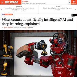 What counts as artificially intelligent? AI and deep learning, explained