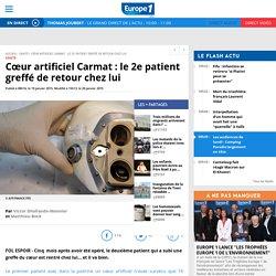 Cœur artificiel Carmat : le 2e patient greffé de retour chez lui
