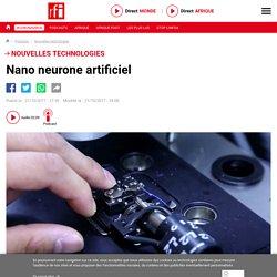 Nano neurone artificiel
