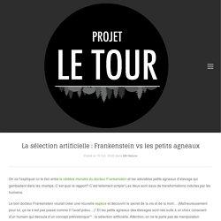 Projet Le Tour La sélection artificielle : Frankenstein vs les petits agneaux - Projet Le Tour