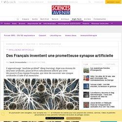 Des Français inventent une prometteuse synapse artificielle : une révolution dans le deep learning ? - Sciencesetavenir.fr