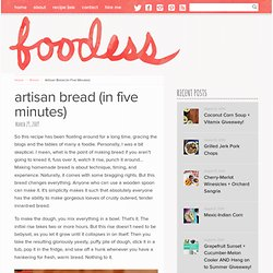 Artisan Bread (in Five Minutes)