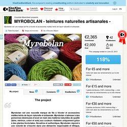 MYROBOLAN - teintures naturelles artisanales - présenté par Charlotte Marembert