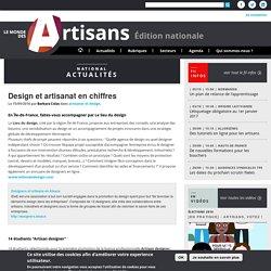 Design et artisanat en chiffres