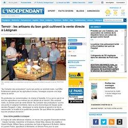 L INDEPENDANT 10/04/14 Terroir : les artisans du bon goût cultivent la vente directe