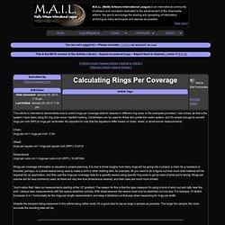 M.A.I.L. - Maille Artisans International League - Article