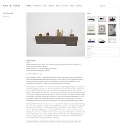 Haim Steinbach - White Cube Gallery Londres