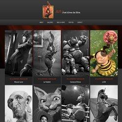 3D Artist - Freelance Character Artist - Art of Jose Alves da Silva