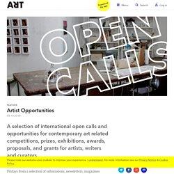 Artist Opportunities