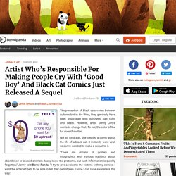 Artist Who's Responsible For Making People Cry With 'Good Boy' And Black Cat Comics Just Released A Sequel