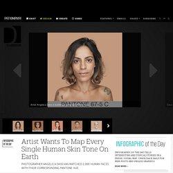 Artist Wants To Map Every Single Human Skin Tone On Earth