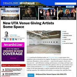 UTA Artist Space To Open September 17 With Larry Clark Exhibit