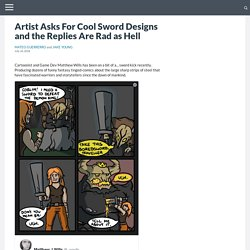 Artist Asks For Cool Sword Designs and the Replies Are Rad as Hell