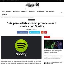 Guía para artistas: cómo promocionar tu música con Spotify