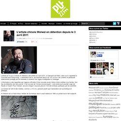 L'artiste chinois Weiwei en détention depuis le 3 avril 2011
